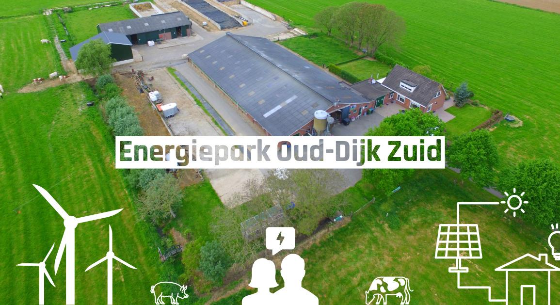 Energiepark Oud-Dijk Zuid in Zevenaar en Montferland