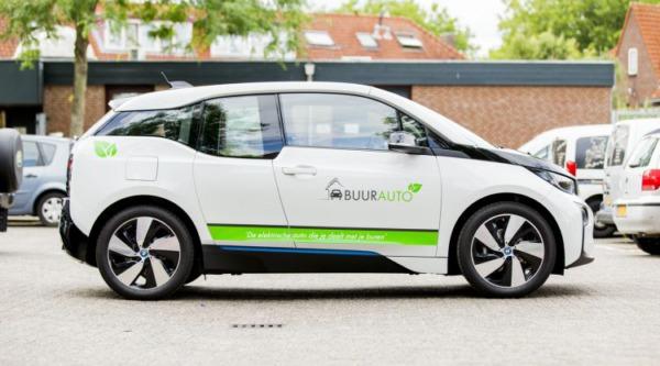 Een deelauto zoals deze kan binnenkort gereserveerd worden door elke inwoner in Lingewaard