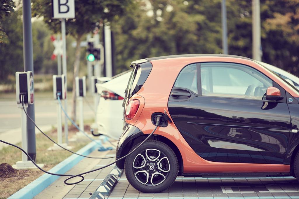 Elektrische deelauto
