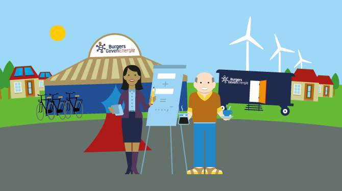 Meet Up agenda lokaal initiatief duurzame energie