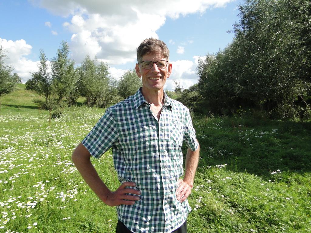 Landschapsecoloog Paul Chardon