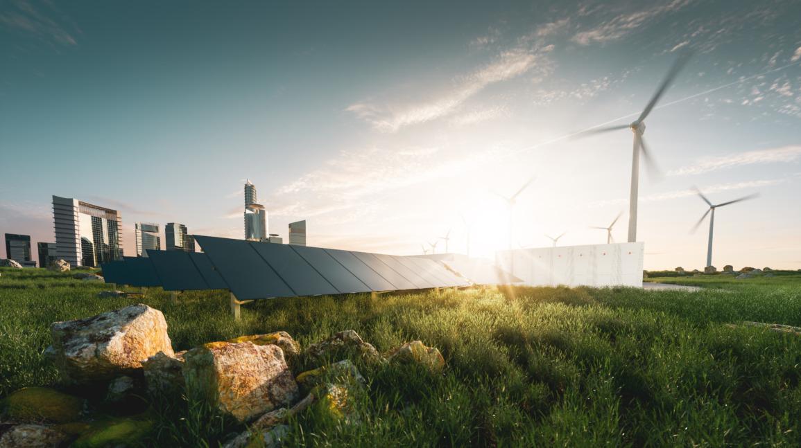 Voorbeeld van hoe een energielandschap eruit kan zien