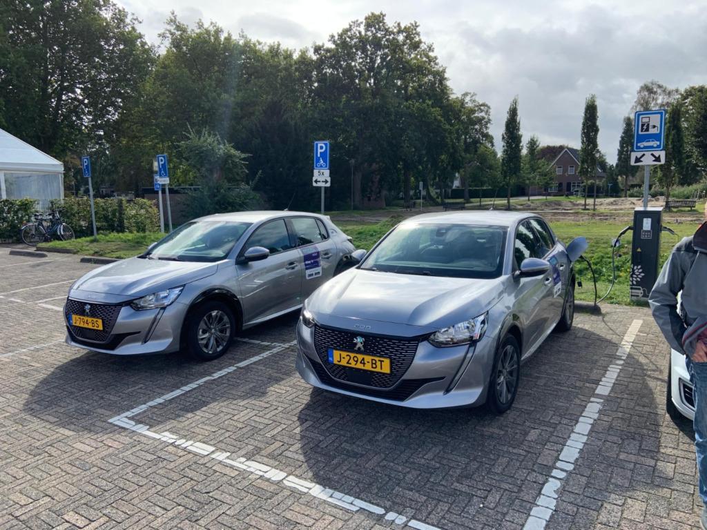 Twee gloednieuwe deelauto's in Bemmel en Huissen